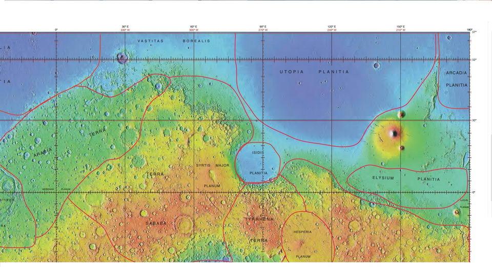 太阳系10大陨石坑——盘点太阳系中最大的陨石坑