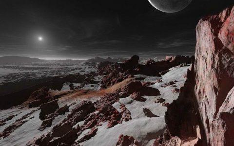 冥王星上看太阳有多亮?