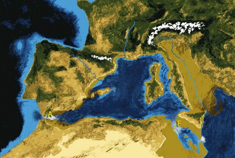 建个大坝把地中海的海水排空后,会对地球环境造成什么影响?