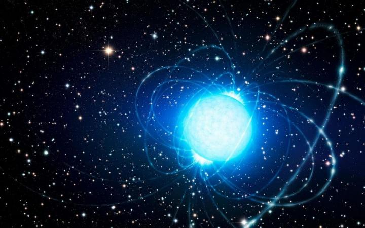"""揭开中子星上毫米级别的""""高山"""""""