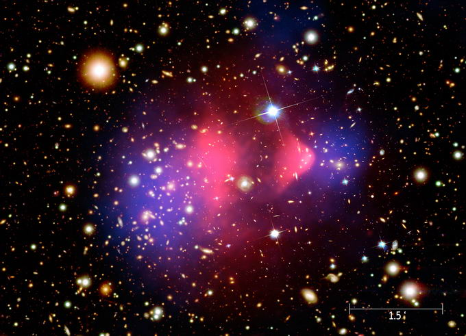 什么是暗星系?由暗物质组成的看不见的星系
