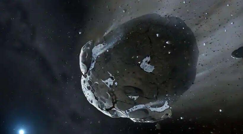 科学家未来打算利用卫星阻挡小行星撞击地球