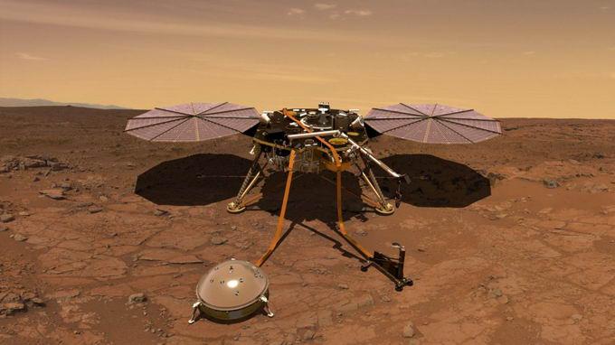 科学家首次绘制了火星内部结构和真实的火星地核